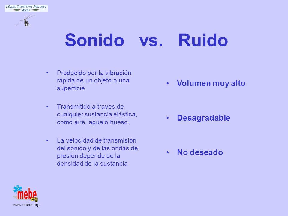 www.mebe.org Sonido vs.