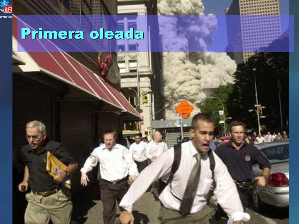 www.mebe.org B. Falso. Las víctimas con lesiones menores suelen llegar antes a los hospitales YearEventObservation 1995Tokyo Subway sarin attackFirst