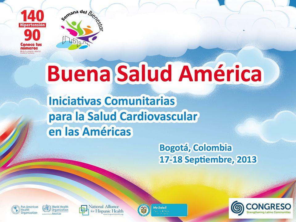 Buena Salud América Para más información, visitarnos al: www.congreso.net facebook.com/Congreso1977 twitter.com/Congreso1977 vimeo.com/Congreso1977