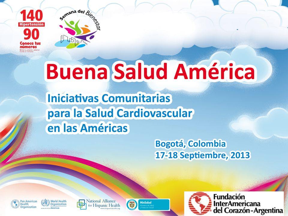 Buena Salud América Inserte su logo Reducción y prevención de las enfermedades crónicas no transmisibles en Argentina Dra.