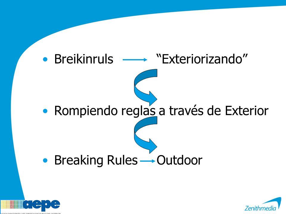 BreikinrulsExteriorizando Rompiendo reglas a través de Exterior Breaking RulesOutdoor