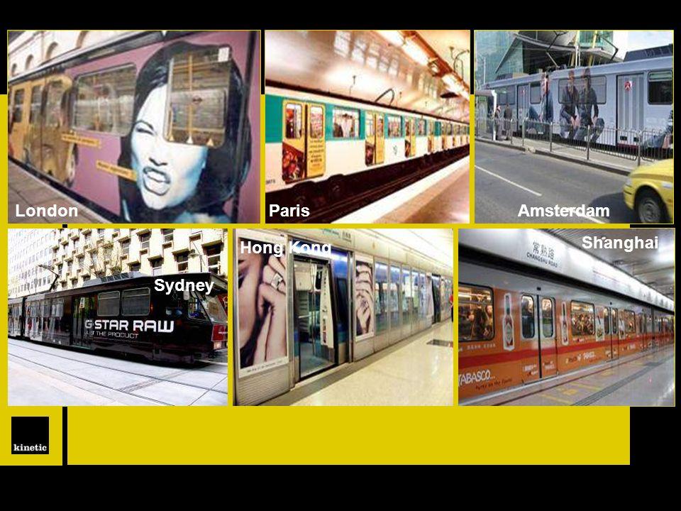 LondonParisAmsterdam Shanghai Hong Kong Sydney