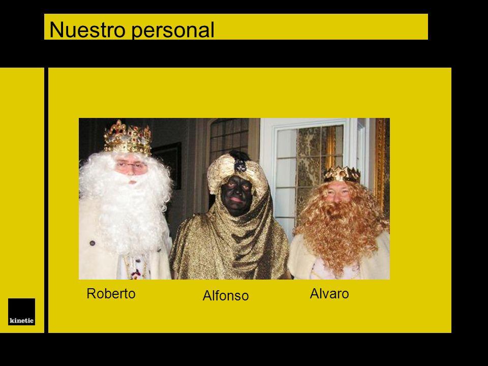 Nuestro personal Roberto Alfonso Alvaro