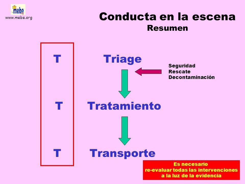 www.mebe.org Triaje prehospitalario basado en la evidencia Alfredo Serrano Moraza Andrés Pacheco Rodríguez Alejandro Pérez Belleboni María Jesús Briña
