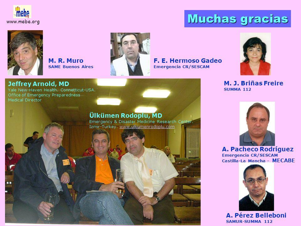 www.mebe.org Descontaminación 2 Están preparados nuestros hospitales
