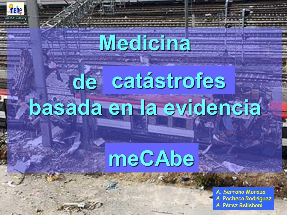 www.mebe.org Triaje avanzado Triaje integrado Triaje basado en la evidencia TBE