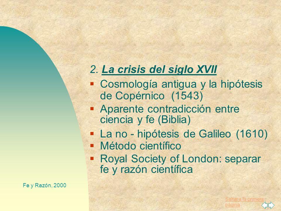 Saltar a la primera página Fe y Razón, 2000 Grandes maestros y alumnos: S. Alberto Magno (biología) S. Tomás de Aquino (1224-1274): Síntesis de filoso