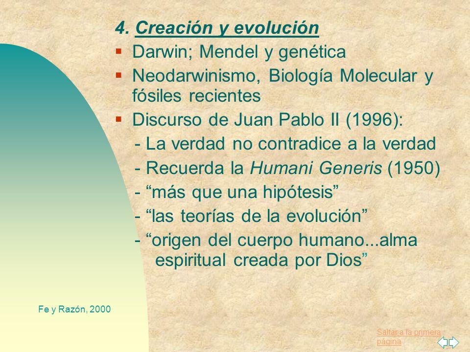 Saltar a la primera página Fe y Razón, 2000 Grandes científicos cristianos (católicos): Copérnico, Pascal, Mendel, Pasteur, Lemaitre (Teoría del Big-B