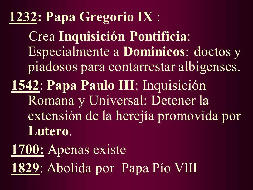 Albigenses y la Iglesia: 1205: (Hacia): Papa Inocencio III convoca Cruzada contra albigenses (Francia): …pues habían matado al Legado Papal que había