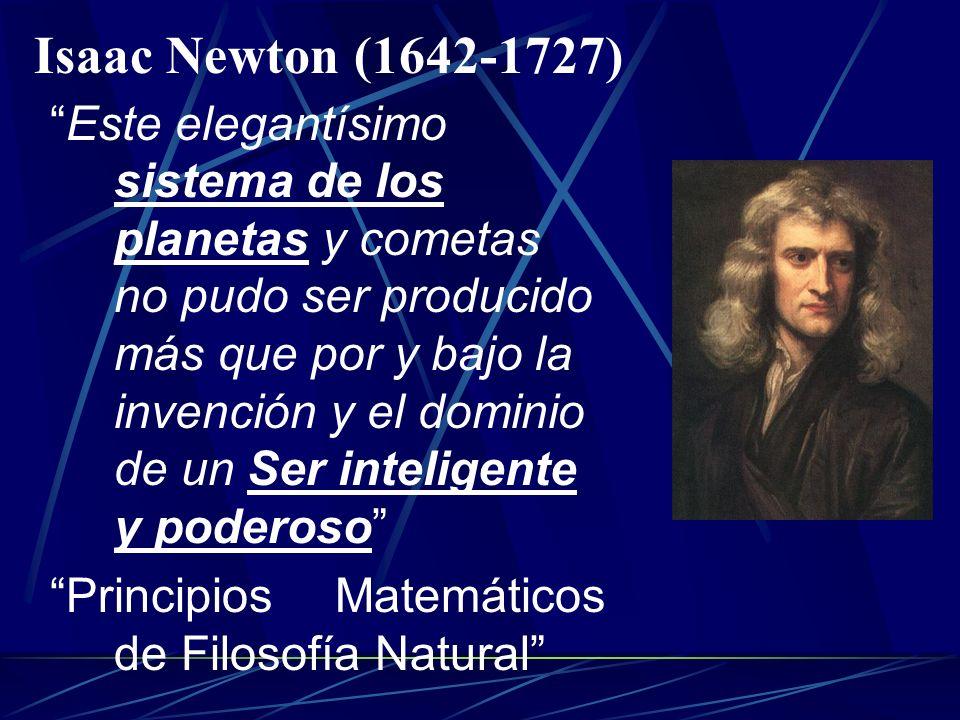 Johannes Kepler (1571-1630) Te doy gracias, Dios mío, Creador nuestro, por haberme permitido ver la belleza de tu Creación, y me alegro de las obras d