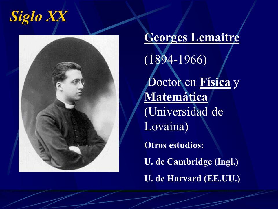 Siglo XX Dos personajes importantes: Albert Einstein (1879-1955) Físico Teoría Especial de la Relatividad (1905)