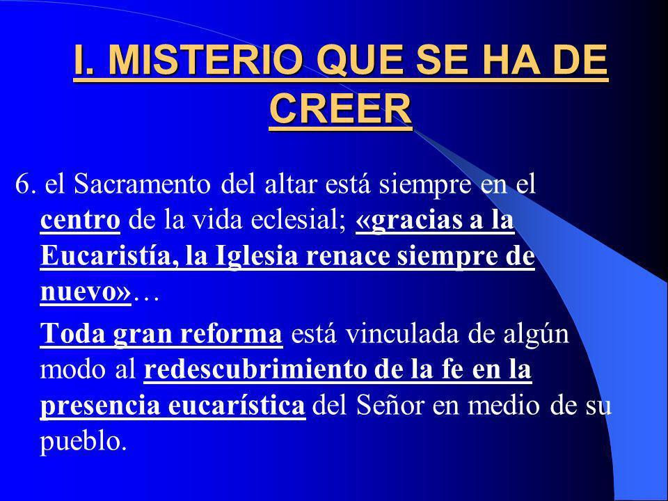 -Juan Pablo II: Ecclesia de Eucharistia (2003): vivir de la eucaristía / Pidió documentos que regulen arbitrariedades Instrucción de la Congreg. para