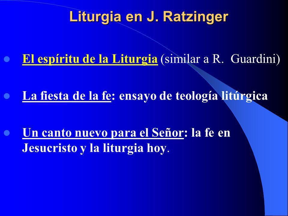 -Liturgia en griego significa obra en favor del pueblo, una especie de trabajo para la comunidad.