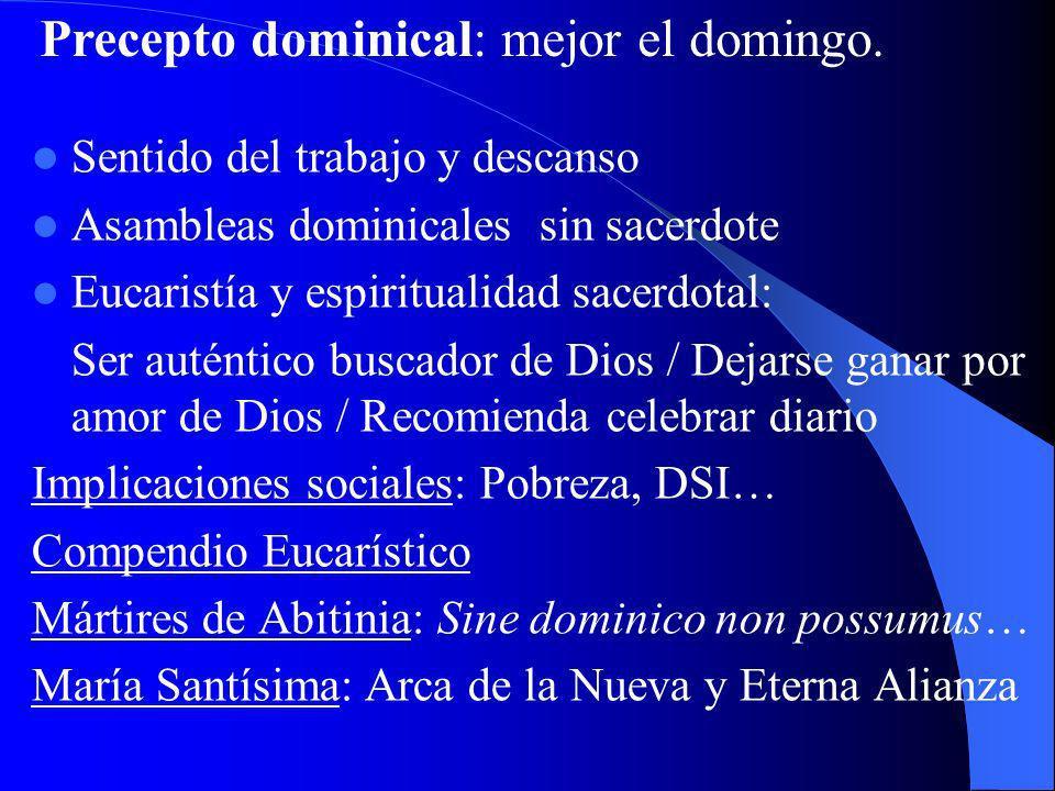 III. MISTERIO QUE SE HA DE VIVIR Nuevo culto: la propia vida Cita de S. Pablo a Romanos: «Os exhorto, por la misericordia de Dios, a presentar vuestro