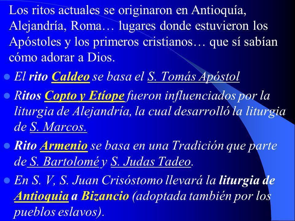 El rito Caldeo se basa el S.