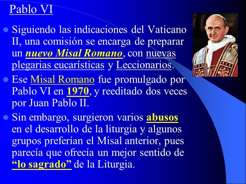 1ª vez en historia de la Iglesia que se trata de Liturgia de modo global. Se dedicó un documento completo, con máximo rango: Const. Sacrosanctum conci