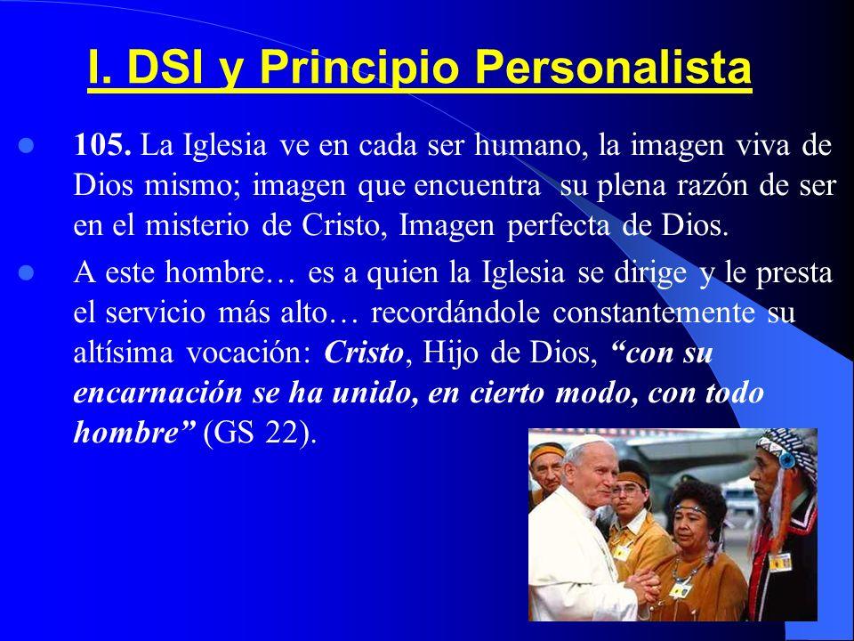 I.DSI y Principio Personalista 105.