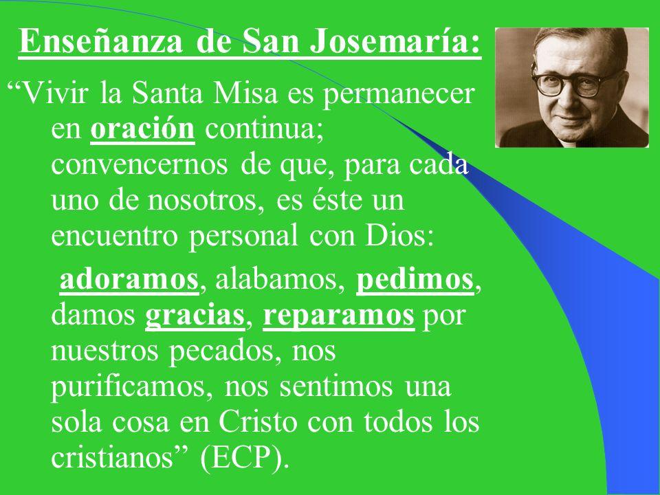 II. LOS 4 FINES DE LA MISA La Misa es Sacrificio, pero es también como una Oración dirigida al Padre. -Para vivirla conviene conocer los 4 fines de la