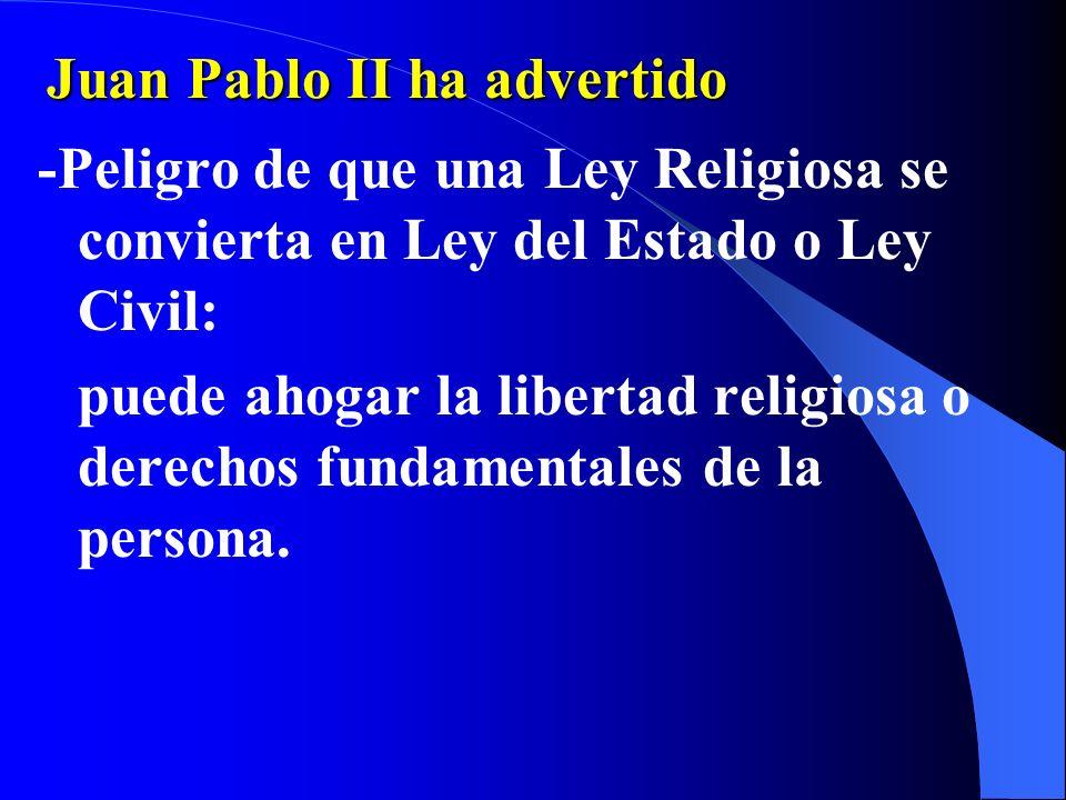 N.6 -La Laicidad es la autonomía de: la esfera civil y política... de la esfera religiosa y eclesiástica !Pero nunca de la esfera Moral!!!! -Este es u