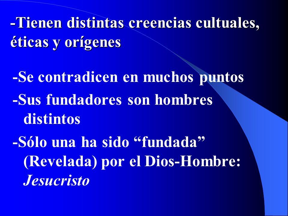 N.8 El derecho a libertad de conciencia (libertad religiosa) se basa en: -Dignidad de la persona humana -NO en una INEXISTENTE igualdad entre las reli