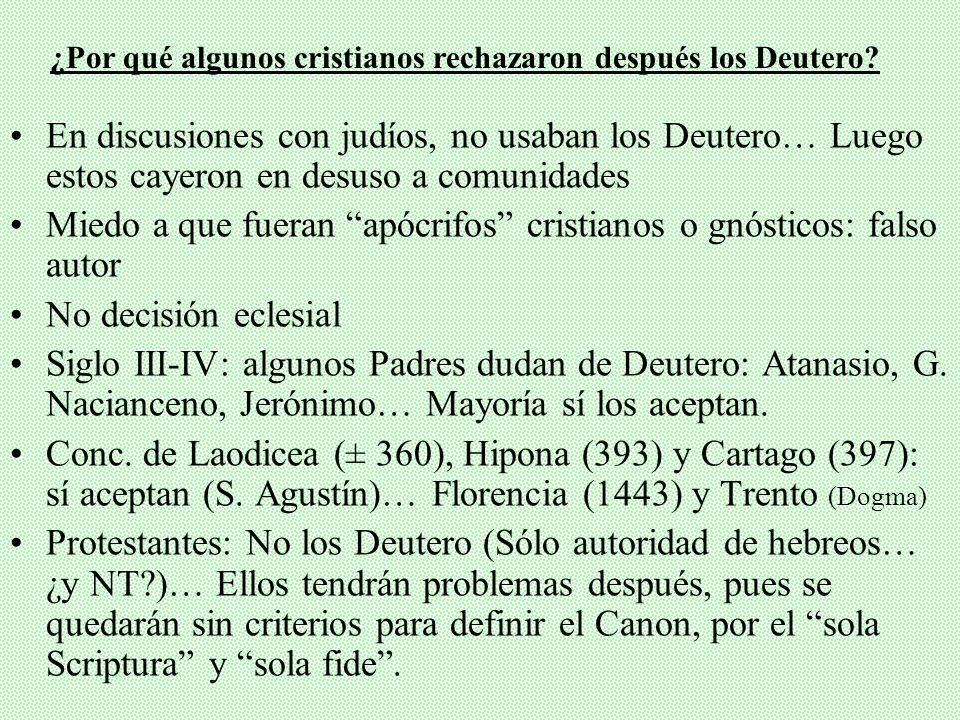Pacíficamente aceptado todo: de 350 citas en NT, 300 concuerdan con LXX (No se citan los Deutero, pero alusiones claras a casi todos (pag. 251, nota 3
