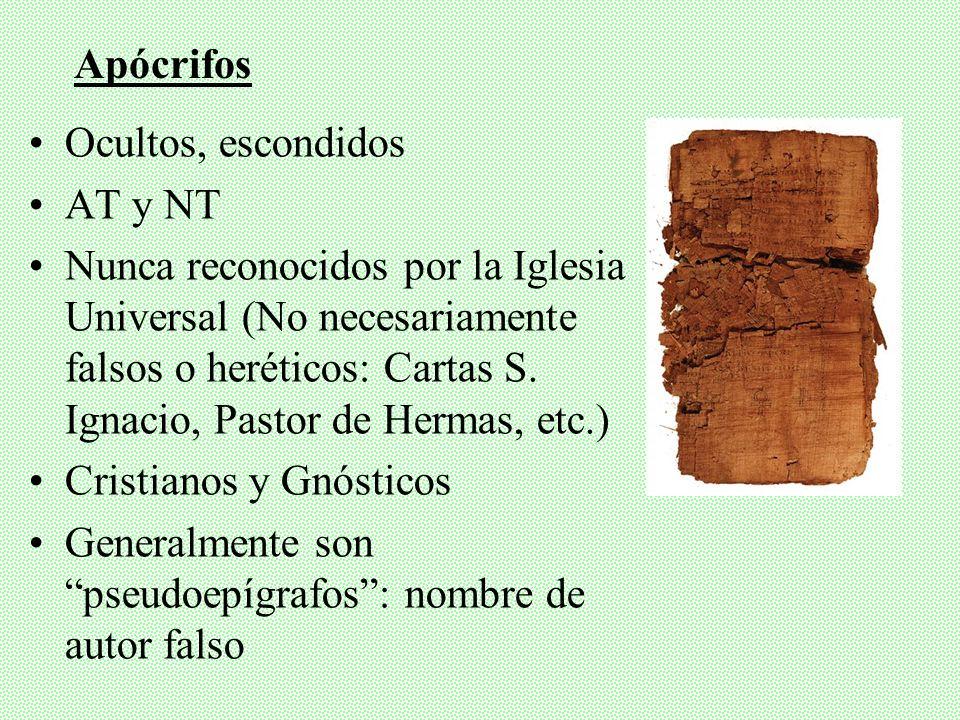 AT y NT: 7 y 7 Terminología variable en siglos Protocanónicos: Nunca estuvieron en duda su Inspiración y Canonicidad Deuterocanónicos: Alguna vez en d