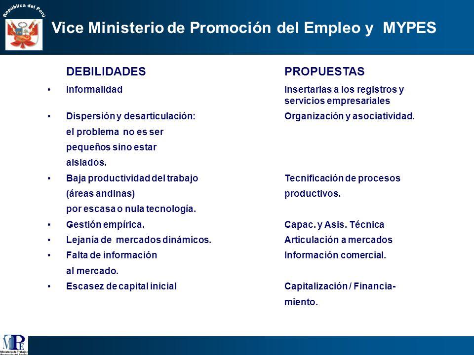 Económica : PBI: 42 % Número de establecimientos empresariales: 98 % Principal dinamizador mercado interno: valor agregado a producción agrícola y pec