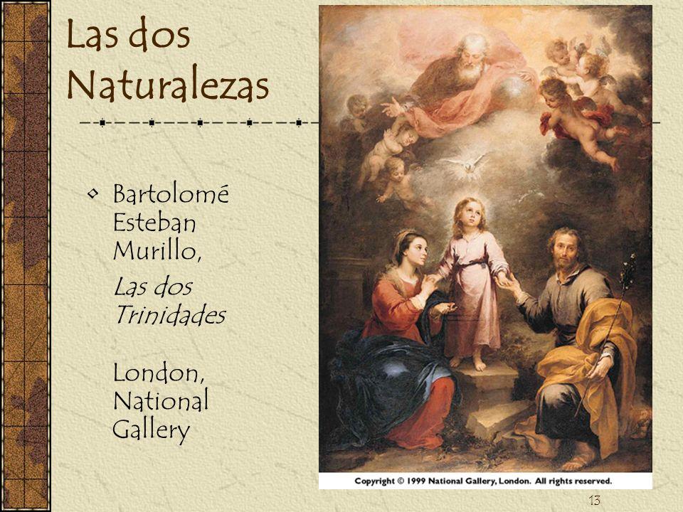 13 Las dos Naturalezas Bartolomé Esteban Murillo, Las dos Trinidades London, National Gallery