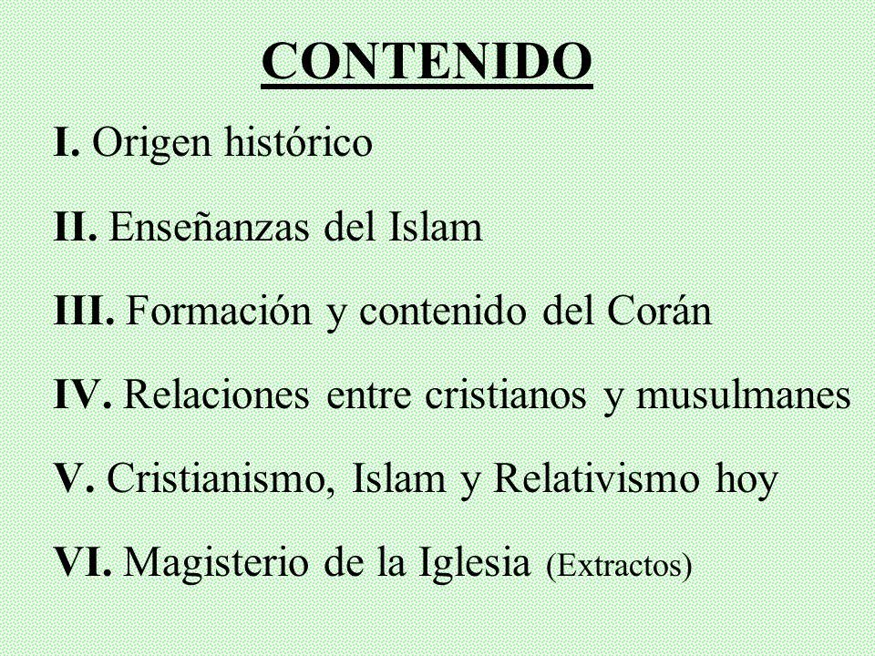 ISLAM Y CRISTIANISMO Principales características