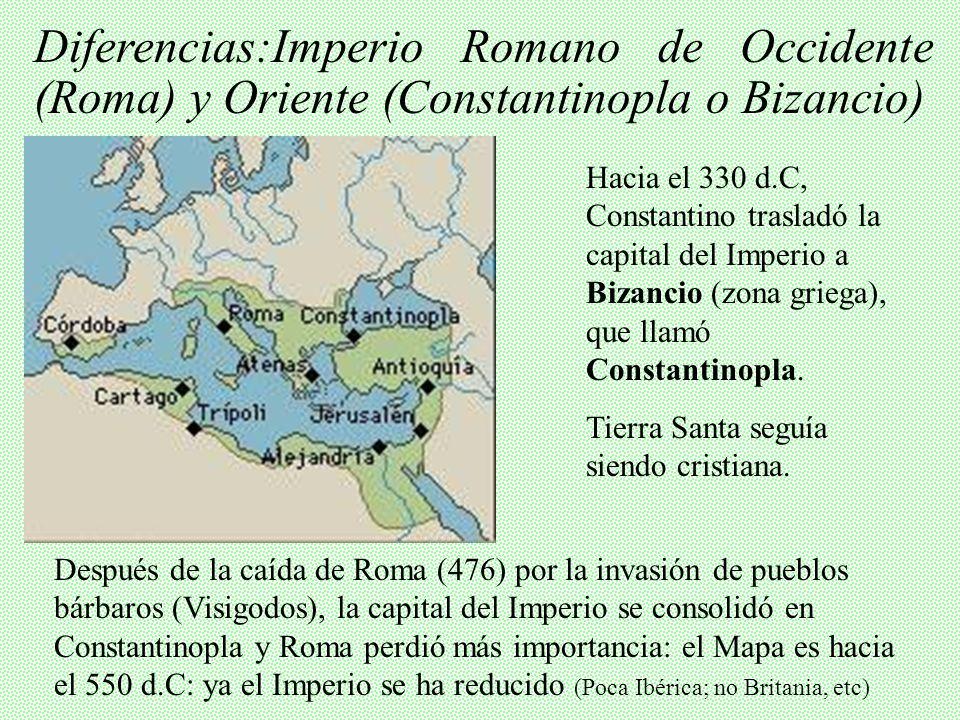 I. ORIGEN HISTÓRICO 1. Nacimiento y expansión del Cristianismo Palestina AT (Judaísmo) Cristo: NT Imperio Romano – Caída hasta siglo V Máximo esplendo