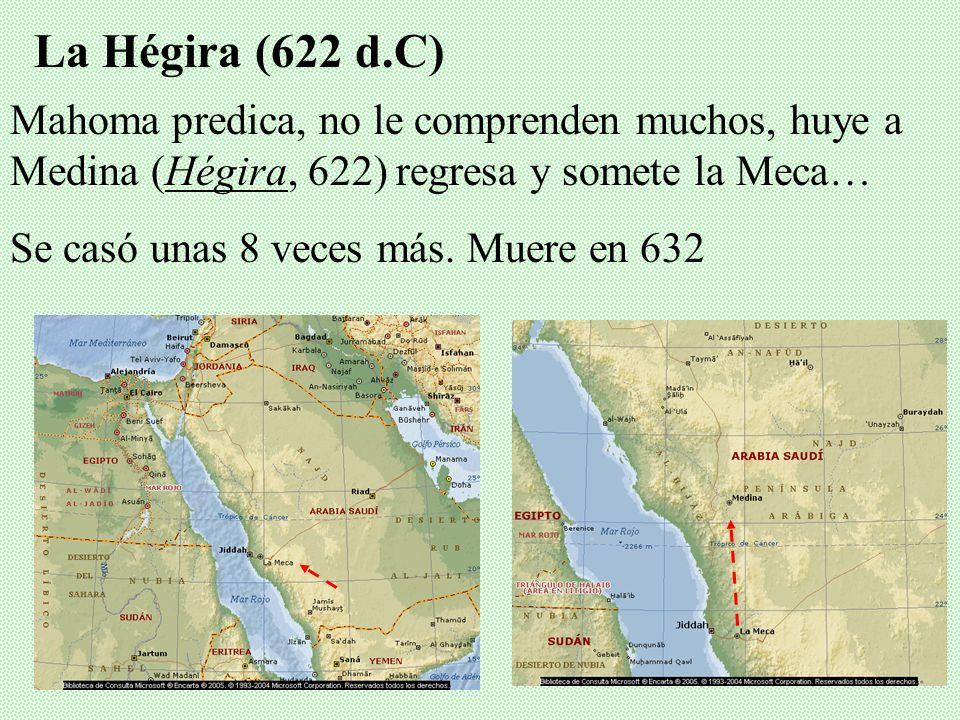 Regresa con mensaje fundamental: el único Dios pide que recuerde su unicidad y se sometan a Él… Ángel le dictó la Revelación en árabe… 2. Nacimiento y