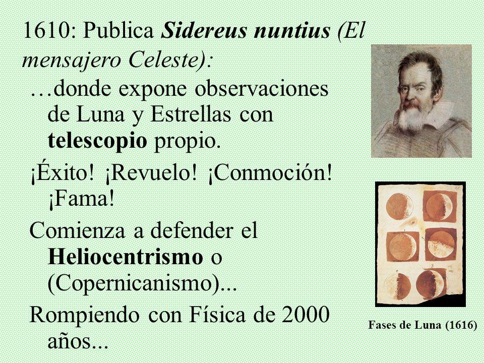 III. GALILEO GALILEI Y SU PROCESO ¿Quién era? Nació en 1564 – Murió en 1642 Familia de abolengo en Pisa. Estudió Medicina, pero luego se dedicó a Mate