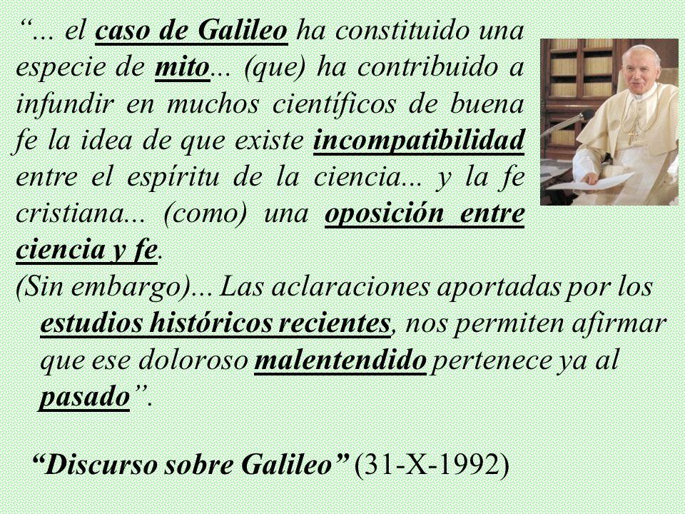 (Galileo) rechazó la sugerencia que se le hizo de presentar como una hipótesis el sistema de Copérnico, hasta que fuera confirmado con pruebas irrefut