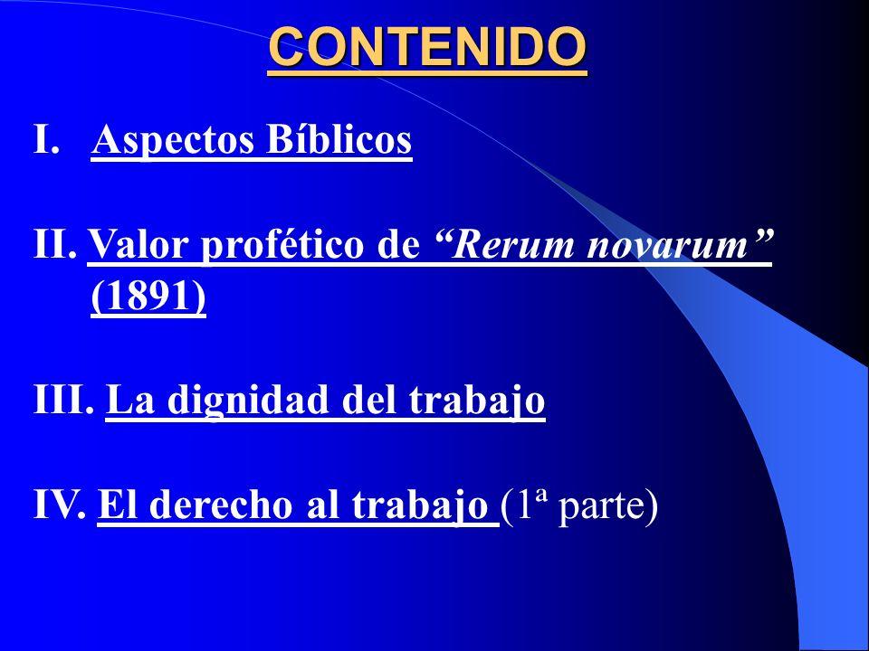 CAP. VI: El Trabajo humano (Parte A) (255 - 294) COMPENDIO DE LA DOCTRINA SOCIAL DE LA IGLESIA (2004)