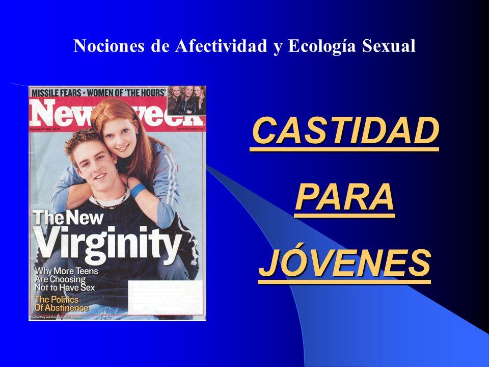 Nociones de Afectividad y Ecología Sexual CASTIDADPARAJÓVENES