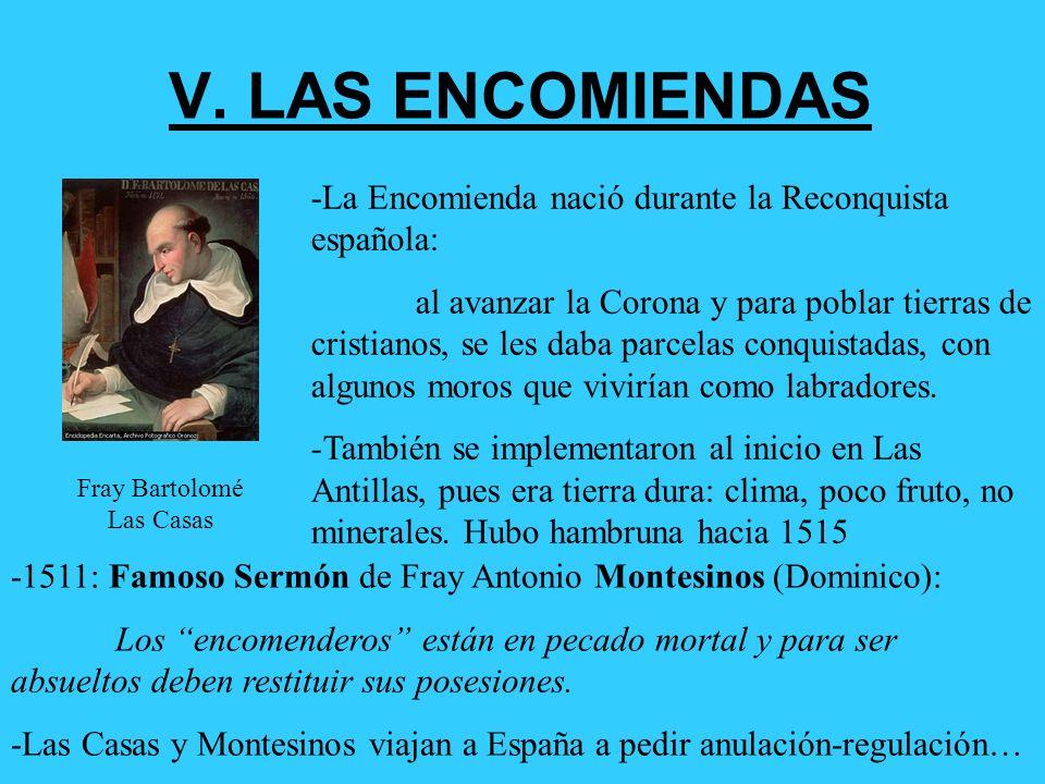 IV. GEOGRAFÍA DE LA EVANGELIZACIÓN 1) Las Antillas fue el primer intento: poco éxito, pues indios desaparecen. 2) Intentos fallidos en Costa de Venezu