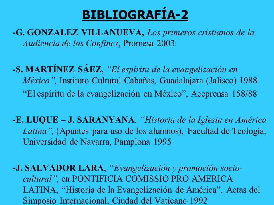 -AA.VV., Historia General de América y España(siglo XVI), Tomo VII, Rialp -M. FAZIO Evangelio y Culturas en América Latina (Promesa 2004). Once aventu