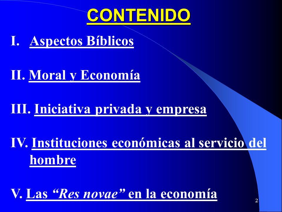 1 CAP. VII: La Vida Económica (Parte) (323 - 376) COMPENDIO DE LA DOCTRINA SOCIAL DE LA IGLESIA (2004)
