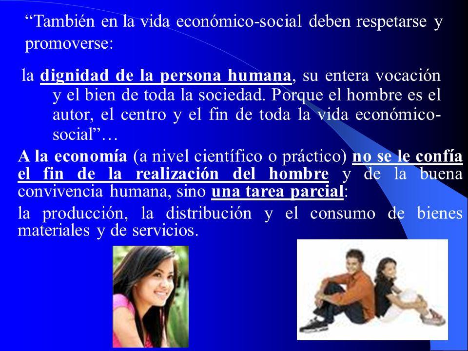 7 II. Moral y Economía 331. La relación entre moral y economía es necesaria e intrínseca: actividad económica y el comportamiento moral deben compenet