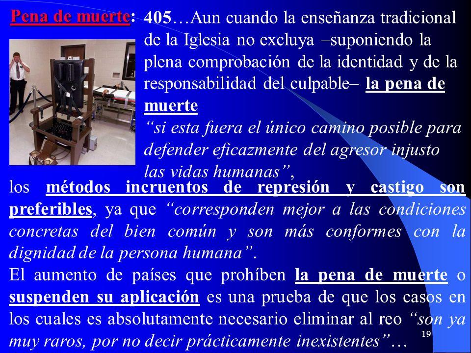 18 404 Tener siempre presente el principio jurídico general en base al cual no se puede aplicar una pena si antes no se ha probado el delito. En la re