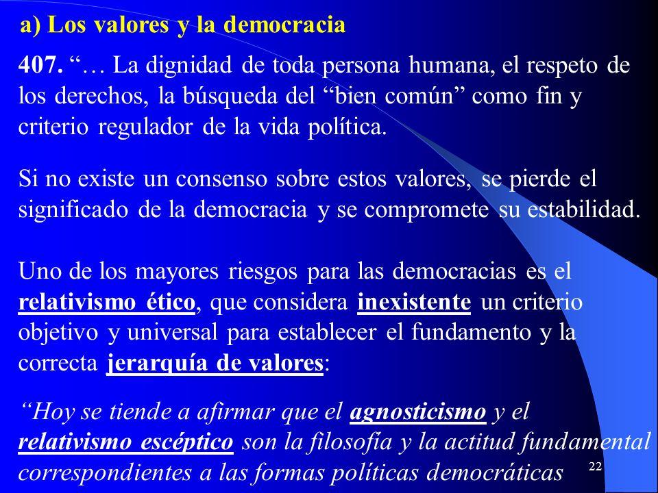 21 de grupos dirigentes restringidos que, por intereses particulares o por motivos ideológicos, usurpan el poder del Estado. Una auténtica democracia