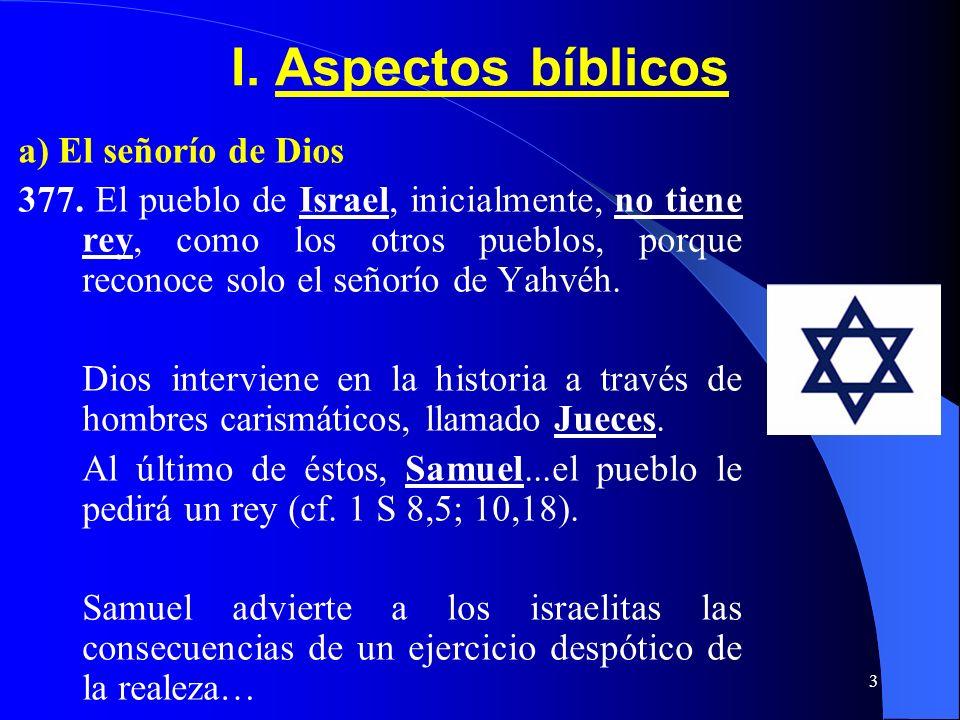 2 CONTENIDO I.Aspectos Bíblicos II. Fundamento y fin de la comunidad política III. La autoridad política IV. El sistema de la democracia V. Comunidad