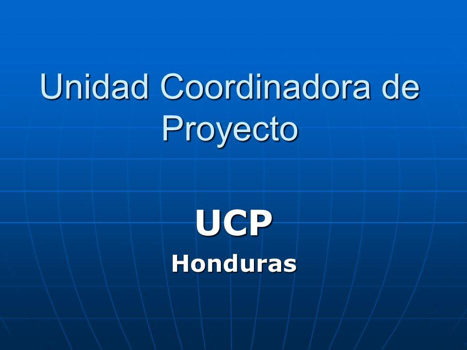 Unidad Coordinadora de Proyecto UCPHonduras