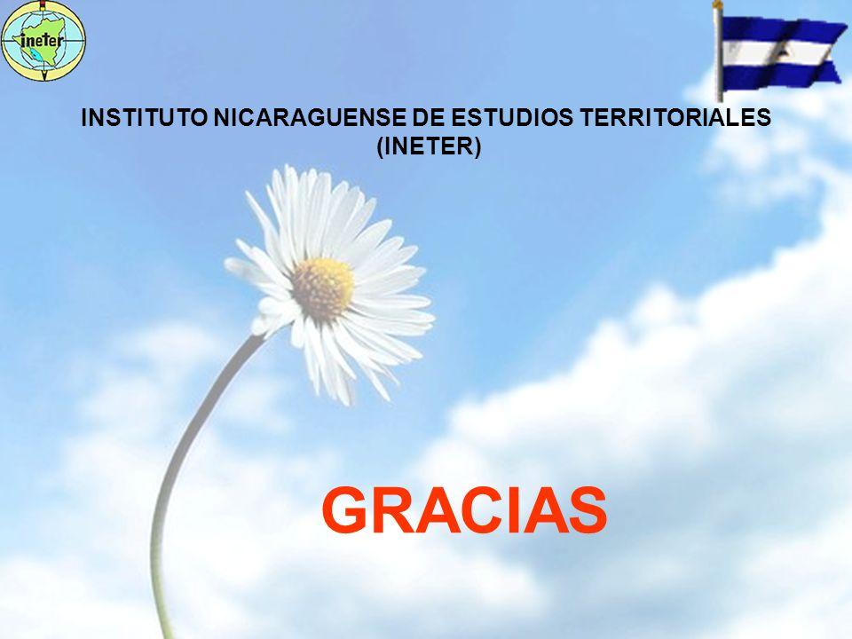 INSTITUTO NICARAGUENSE DE ESTUDIOS TERRITORIALES (INETER) GRACIAS