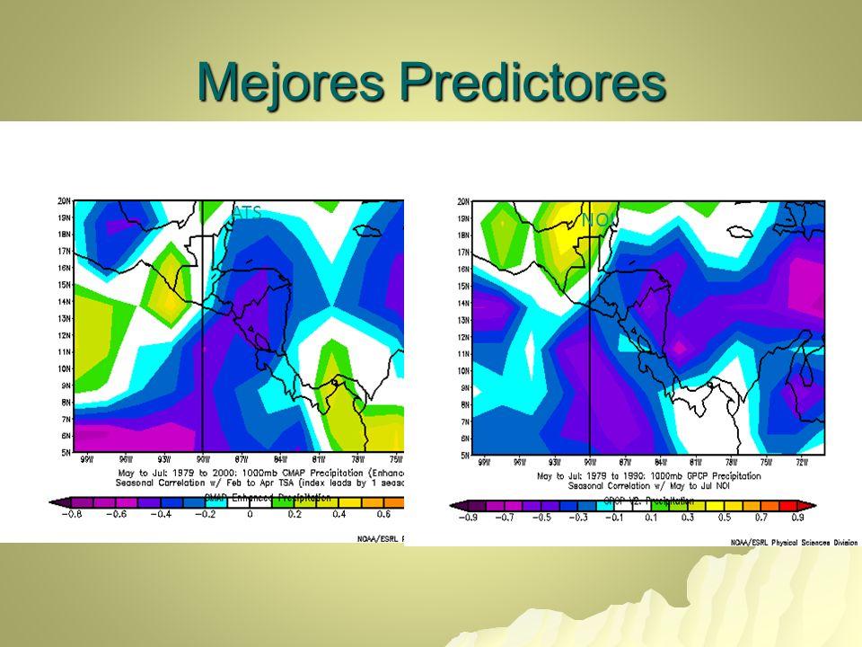 Pronóstico MJJ 2009 SMNH Climatología N B A B N