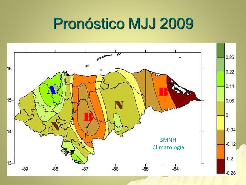 Anomalías Normalizadas Probables Mayo 2009