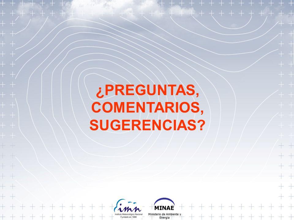 ¿PREGUNTAS, COMENTARIOS, SUGERENCIAS