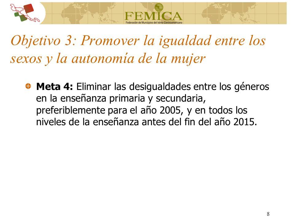39 OBJETIVO GENERAL Instalar en 18 municipios de Centroamérica observatorios municipales del delito que busquen formular estrategias y políticas de prevención de violencia a nivel local PLAZO DEL PROYECTO ABRIL 2004-ABRIL DEL 2006