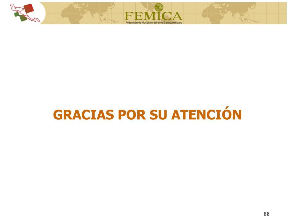 88 GRACIAS POR SU ATENCIÓN