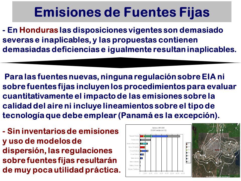 Emisiones de Fuentes Fijas - Sin inventarios de emisiones y uso de modelos de dispersión, las regulaciones sobre fuentes fijas resultarán de muy poca